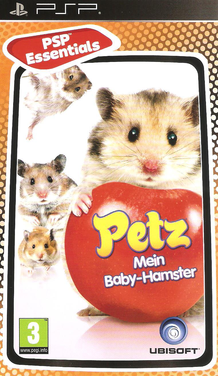 petz mein baby hamster spiele gebraucht psp. Black Bedroom Furniture Sets. Home Design Ideas