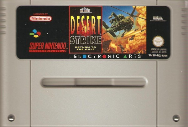 Desert Strike Spiele Gebraucht Super Nintendo Snes